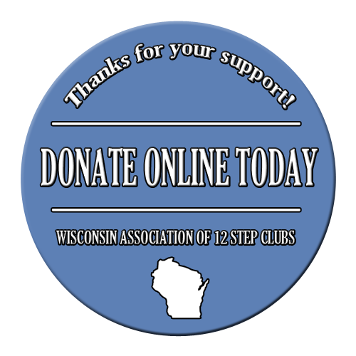 Donate to the WI 12 Step Club Assoc