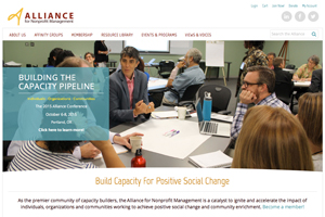 Alliance for non-profit management