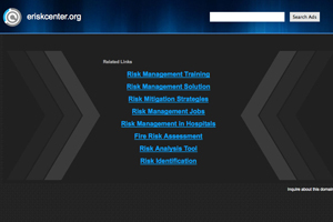 Risk Management Resource Center (RMRC)